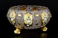 Тройножка золото Bohemia Max Crystal 25 см