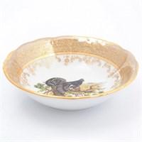 Набор салатников Sterne porcelan Охота Бежевая 16 см(6 шт)
