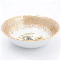 Набор салатников Sterne porcelan Охота Бежевая 19 см(6 шт)