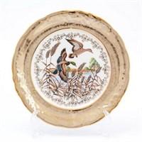 Набор тарелок Sterne porcelan Охота Бежевая 24 см(6 шт)
