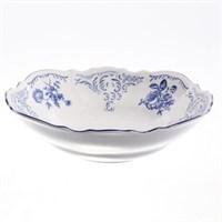 Набор салатников Bernadotte Синие розы 19 см(6 шт)