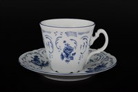 Набор чайных пар ведерка Bernadotte Синие розы 200 мл(6 пар)