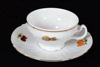 Набор чайных пар Bernadotte Фрукты 220мл (6 пар)