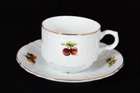 Набор чайных пар Bernadotte Фрукты 250 мл(6 пар)