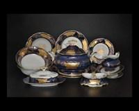Столовый сервиз на 6 персон 30 предметов Мария Луиза Кленовый лист Синний