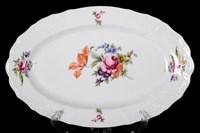 Блюдо овальное Bernadotte Полевой цветок 36 см