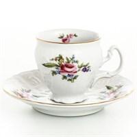 Набор кофейных пар Bernadotte Полевой цветок 120 мл(6 пар)