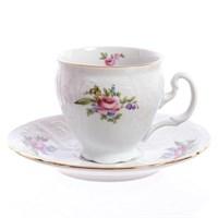 Набор кофейных пар Bernadotte Полевой цветок 170 мл(6 пар)