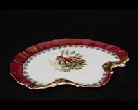 Блюдо ракушка Queen's Crown Охота красная 28 см