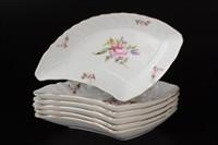 Набор салатников Queen's Crown Полевой цветок 21 см(6 шт)