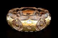 Пепельница золото Sonne Crystal 15 см