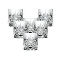Набор стаканов для виски RCR Melodia 310мл (6 шт)