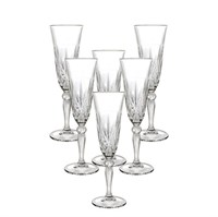Набор фужеров для шампанского RCR Melodia 160мл (6 шт)