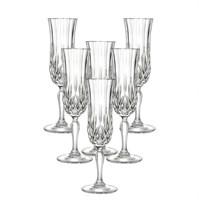 Набор фужеров для шампанского RCR Opera 130мл (6 шт)