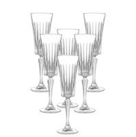 Набор фужеров для шампанского RCR Timeless 210мл (6 шт)
