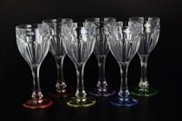 Набор бокалов для вина Crystalite Bohemia Сафари Ассорти 290 мл(6 шт)