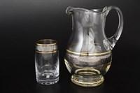 Набор для воды Bohemia Панто Идеал 7 предметов Платина