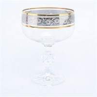 Набор креманок Crystalex Bohemia Клаудия Панто 200мл(6 шт)
