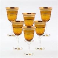Набор бокалов для вина Star Crystal Кристина 220мл (6 шт)