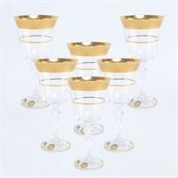 Набор бокалов для вина Star Crystal Смальта 220мл (6 шт)