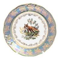Набор тарелок Roman Lidicky Фредерика Охота Зеленая 21 см(6 шт)