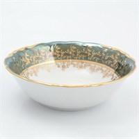 Набор салатников Sterne porcelan Зеленый лист 19 см (6 шт)