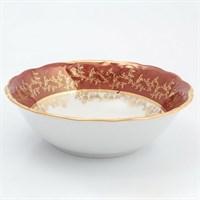 Набор салатников Sterne porcelan Красный лист 19 см(6 шт)