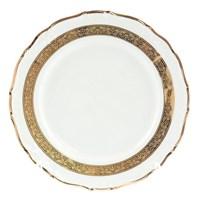 Набор тарелок Thun Мария Луиза Золотая лента 25 см(6 шт)