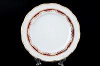 Набор тарелок Thun Мария Луиза Красная лилия 27см (6 шт)