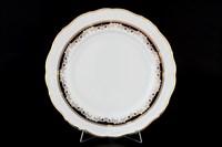 Набор тарелок Thun Мария Луиза Синяя лилия 27см (6 шт)