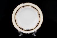 Набор глубоких тарелок Thun Мария Луиза Синяя лилия 23см (6 шт)