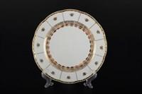 Набор тарелок Thun Менуэт Золотой орнамент Натали 21см (6 шт)
