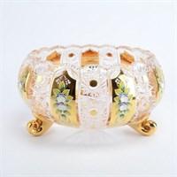 Тройножка золото Bohemia Max Crystal 31 см