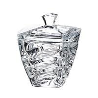 Конфетница с крышкой Crystalite Bohemia Facet 18 см