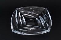 Фруктовница Crystalite Bohemia Facet 32 см ,высота 4 см