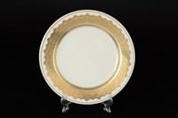 Набор тарелок Falkenporzellan Agadir Brown Gold 21см(6 шт)