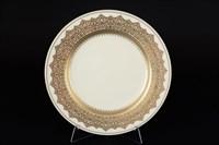 Набор тарелок Falkenporzellan Agadir Brown Gold 27см (6 шт)