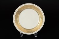 Набор тарелок Falkenporzellan Agadir Seladon Gold 21см(6 шт)