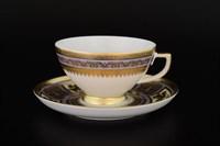 Набор чайных пар Falkenporzellan Diadem Violet Creme Gold 220мл(6 пар)