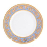 Набор тарелок Falkenporzellan Imperial Blue Gold 17 см(6 шт)