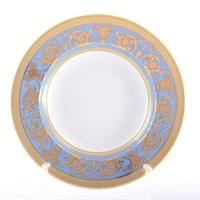 Набор тарелок глубоких Falkenporzellan Imperial Blue Gold 23 см(6 шт)
