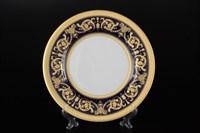 Набор тарелок Falkenporzellan Imperial Cobalt Gold 21 см(6 шт)
