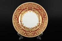 Набор тарелок Falkenporzellan Natalia bordeaux gold 23 см(6 шт)