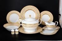 Столовый сервиз Falkenporzellan Rialto Creme Gold 6 персон 27 предметов