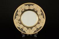 Набор тарелок Falkenporzellan Belvedere Combi Black Gold 22см