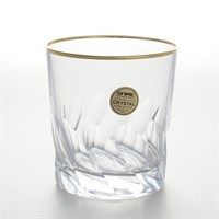Набор Sam Палермо золото 6 стаканов для виски 300мл