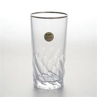Набор стаканов для воды Sam Палермо платина 350мл (6 шт)