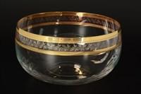 Салатница Bohemia Идеал Золото V-D 22 см