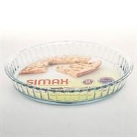 Блюдо для запекания 28 см Simax жаропрочное
