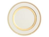 Блюдо круглое Falkenporzellan Constanza Cream Gold 30 см